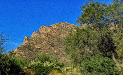 Digital Art - Pusch Ridge Impression by Mark Myhaver