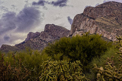 Mark Myhaver Rights Managed Images - Pusch Ridge Peaks Royalty-Free Image by Mark Myhaver