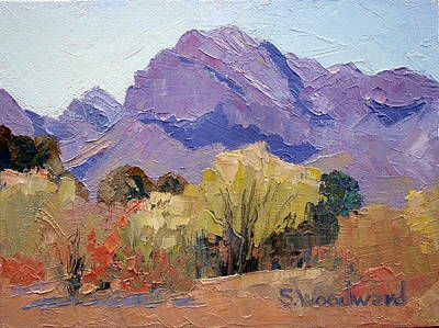 Pusch Ridge Art Print by Susan Woodward