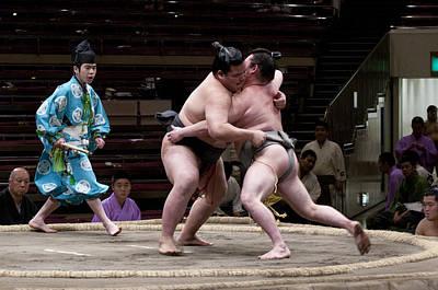 Photograph - Push by Masami Iida
