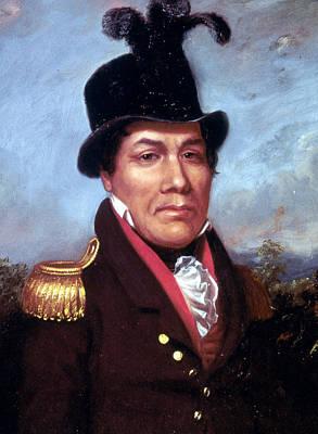 Choctaw Painting - Pushmataha (c1765-1824) by Granger