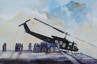 Pushover - South China Sea 1975 Art Print