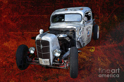 Photograph - Pushy Rat-rod by Luther Fine Art