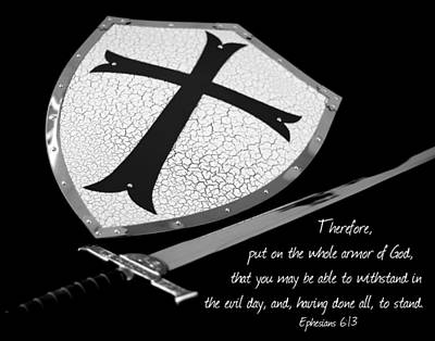 Put On The Armor Ephesians 6 Art Print