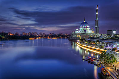 Photograph - Putra Mosque by Mario Legaspi