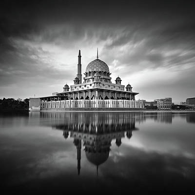 Islam Wall Art - Photograph - Putra Mosque by Photography By Azam Alwi