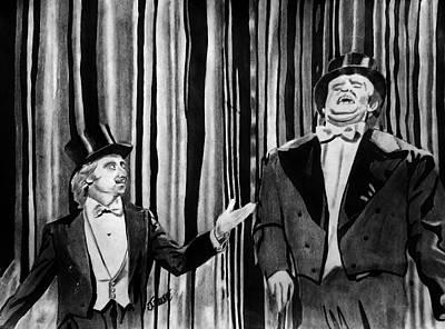 Frankenstein Drawing - Puttin On Da Risssss by Jeremy Moore