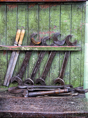 Harle Wall Art - Photograph - Putting A Spanner In The Works by Gillian Singleton