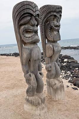 Photograph - Puuhonua O Honaunau  Historic National Park by Marek Poplawski