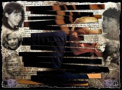 Self-portrait Digital Art - Puzzle by Gun Legler