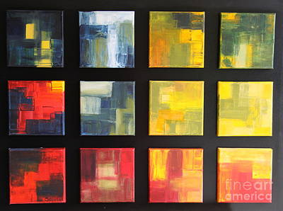 Puzzle V  Original by Christiane Schulze Art And Photography