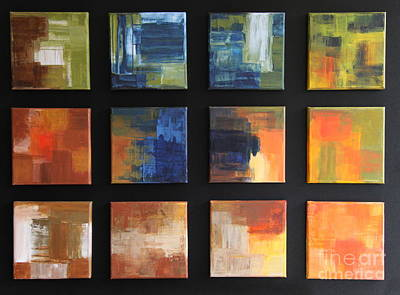 Puzzle Vii Original by Christiane Schulze Art And Photography