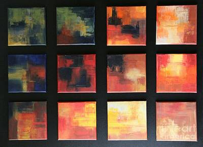 Puzzle Viii Original by Christiane Schulze Art And Photography