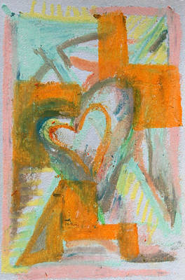 Pastel - Puzzled Heart by Racquel Morgan