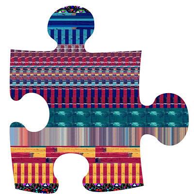 Chakra Painting - Puzzling Colors Jun 5 14 Buy Any Faa Product Or Download For Self-printing  Navin Joshi Rights Manag by Navin Joshi