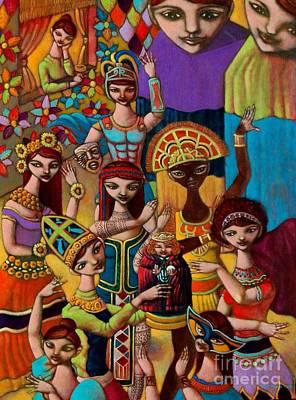 Filipino Painting - Pyesta Pilipinas by Paul Hilario