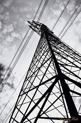 Sky Photograph - Pylon 4 by Daniele Fedi