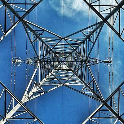 Power Photograph - Pylon by Phil Tomlinson