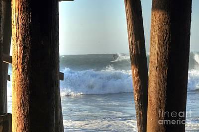 Photograph - Pylon Surfer by Richard Omura