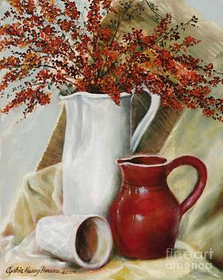 Painting - Pyracantha by Cynthia Parsons
