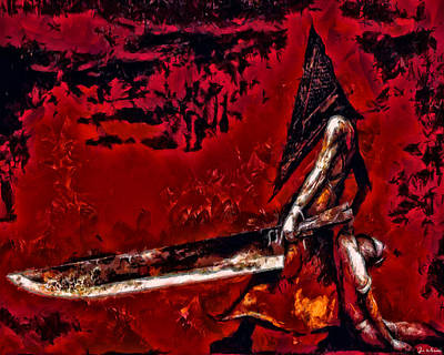 Pyramid Head Art Print