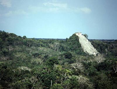 Photograph - Pyramid In Yucatan by Robert  Rodvik