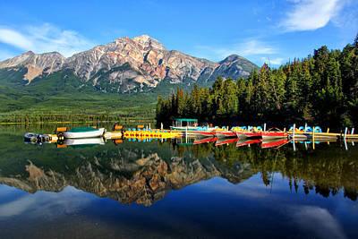 Photograph - Pyramid Lake Boat Dock by Carolyn Derstine
