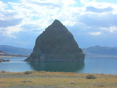 Photograph - Pyramid Lake by Kristen R Kennedy