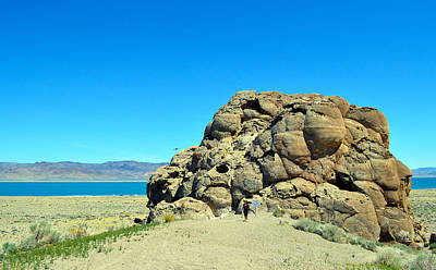 Photograph - Pyramid Lake Rocks by Brent Dolliver