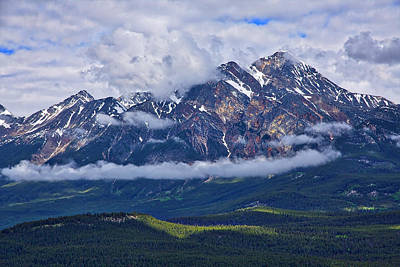 Photograph - Pyramid Mountain #2 by Stuart Litoff