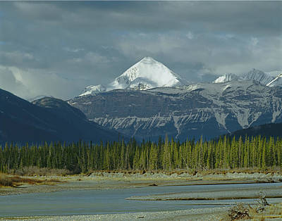 Photograph - 1m3940-pyramid Mountain by Ed  Cooper Photography