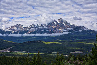 Photograph - Pyramid Mountain by Stuart Litoff