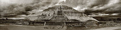 Photograph - Pyramid Of The Sun In Teotihuacan by Weston Westmoreland
