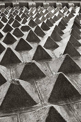 Photograph - Pyramid Wall Segovia by Angela Bonilla