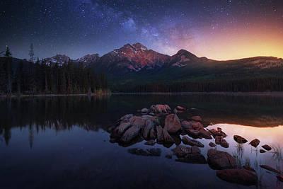 Rocky Mountains Photograph - Pyramid Way by Juan Pablo De