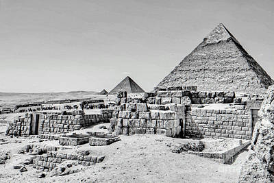 Photograph - Pyramids  by Karam Halim