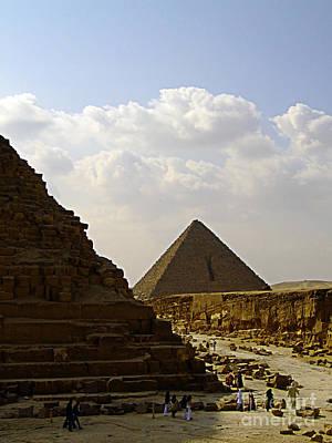 Aretha Franklin - Pyramids Of Giza 23 by Antony McAulay