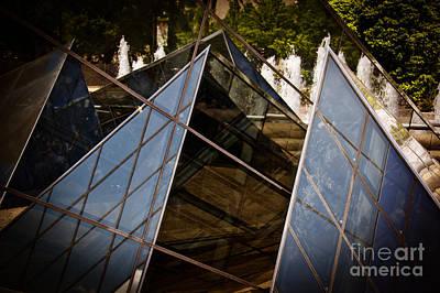 Pyramids Reflected Art Print by Tom Gari Gallery-Three-Photography