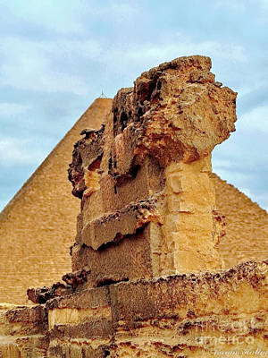 Photograph - Pyramid's Temple  by Karam Halim