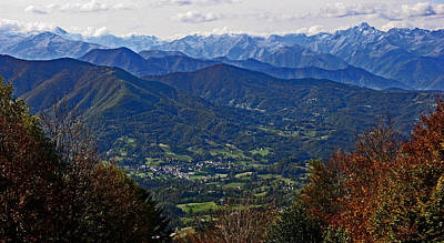 Pyrenean View Art Print by John Topman
