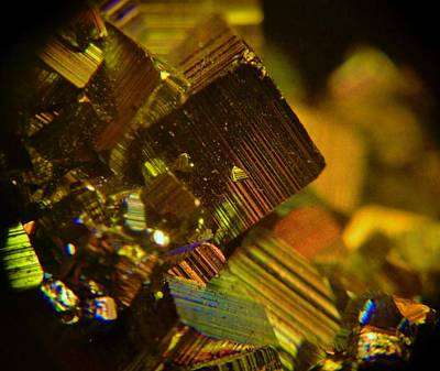Photograph - Pyrite Crystals  by Sarah Pemberton