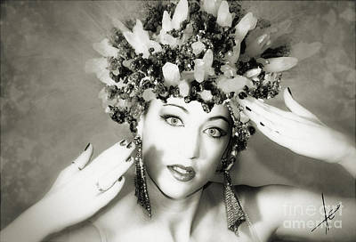 Photograph - Pyrite Princess II by Afrodita Ellerman