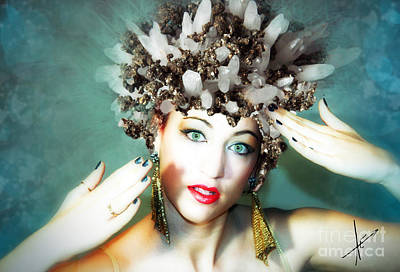 Photograph - Pyrite Princess IIi by Afrodita Ellerman