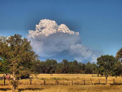 Photograph - Pyrocumulus Cloud 08 18 12 by Joyce Dickens