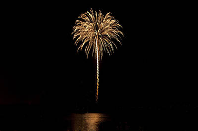 Photo Royalty Free Images - Pyrotechnics festival Royalty-Free Image by Joel  Bourgoin