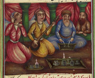Religious Art Photograph - Qabusnama by British Library