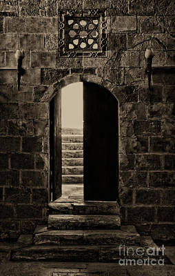 Qalawun Doorway Cairo Art Print