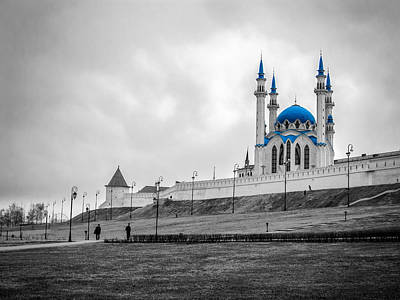 Photograph - Qolsharif Mosque by Alexey Stiop