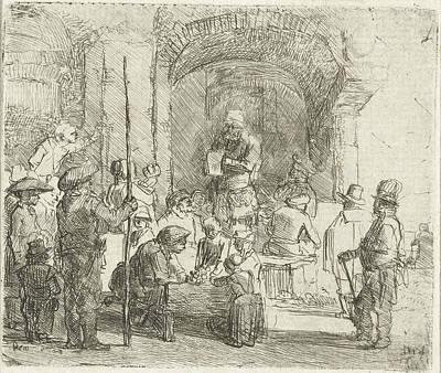 1636 Drawing - Quack, Constantijn  Renesse by Constantijn ? Renesse