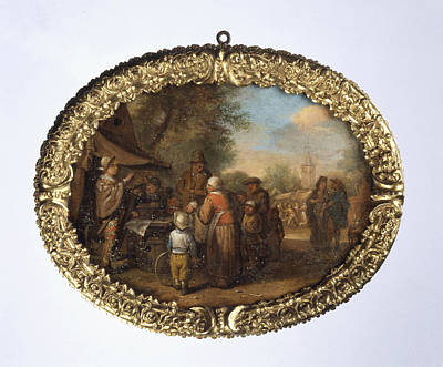Charlatan Drawing - Quacksalver Charlatan, Manner Of Cornelis Dusart by Litz Collection